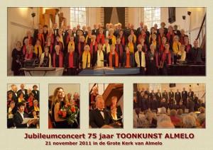 collage van het concert