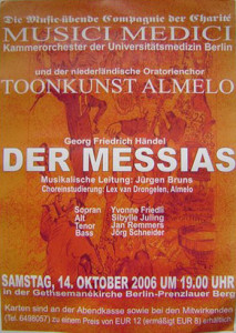 2006 Messiah Berlijn